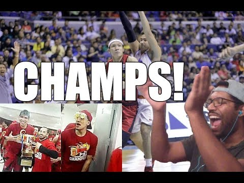 CHAMPS FOR TWO CONFERENCES! SMB Vs TNT GAME 6 FINALS REACTION!