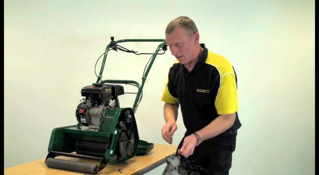 Allett Classic 14l And 17l Cylinder Mower How To Change