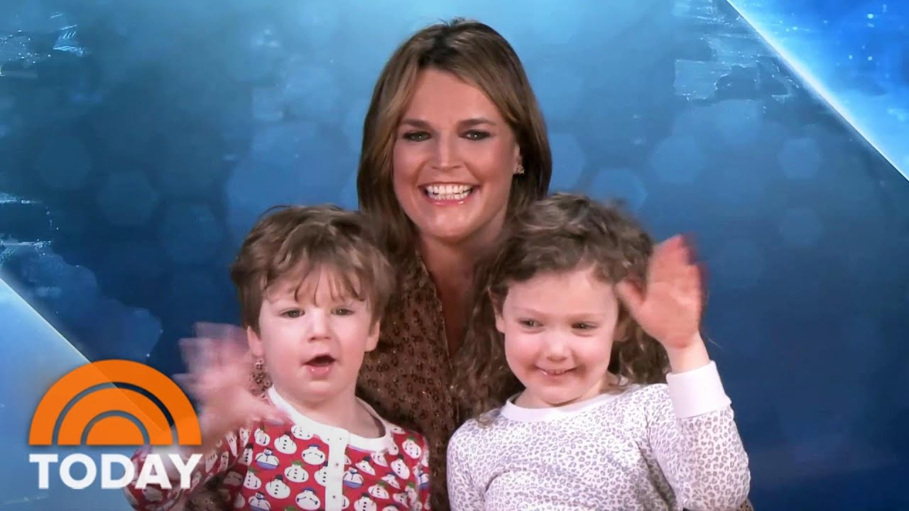 Savannah Guthrie S Kids Join Her As She Co Anchors Today From Home Today Youtube