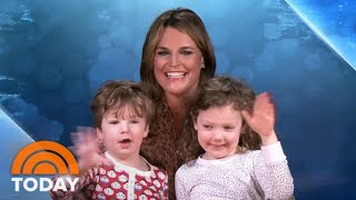 Savannah Guthrie's Kids Join Her As She Co-anchors TODAY From Home | TODAY