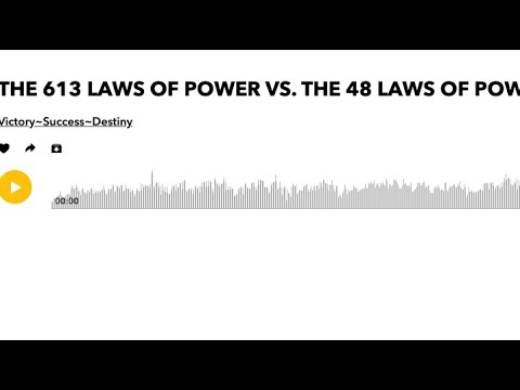 Bro EL: THE 613 LAWS OF POWER VS. THE 48 LAWS OF POWER