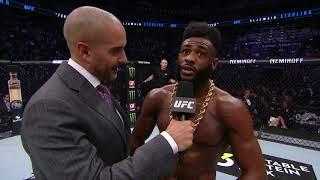 UFC Phoenix: Aljamain Sterling Octagon Interview
