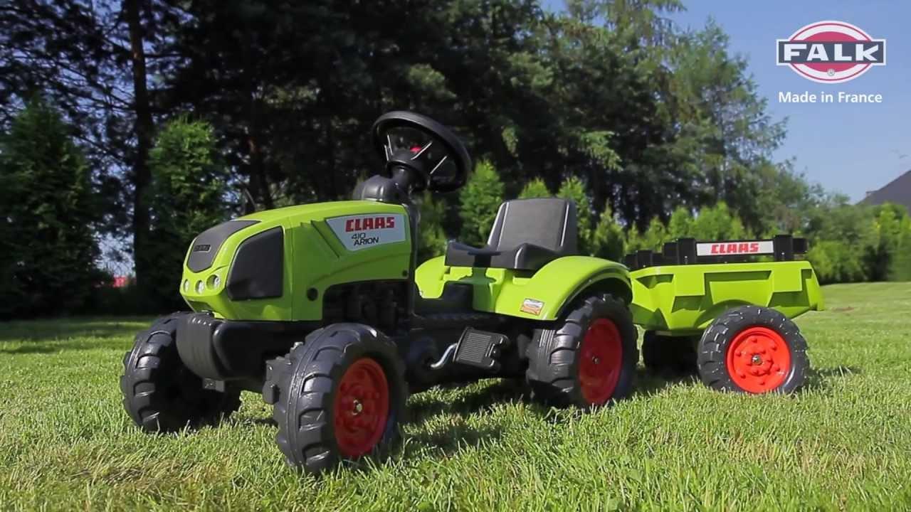 Traktor, traktorek dla dzieci Claas Arion 410 na pedały z   -> Kuchnia Dla Dzieci Z Ekspresem