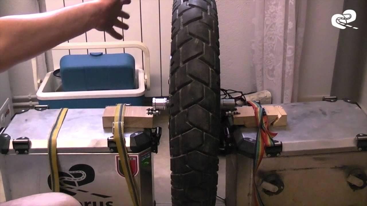 build a custom wheel balancer
