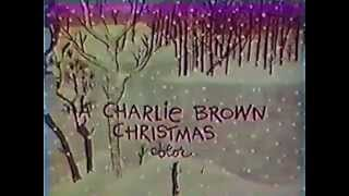 CBS A Charlie Brown Christmas 1965 TV promo