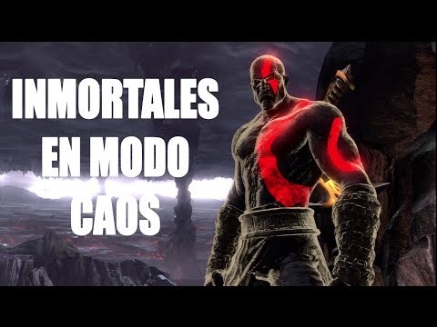 GOD OF WAR III - TRUCO Inmortalidad y todas las armas en MODO CAOS