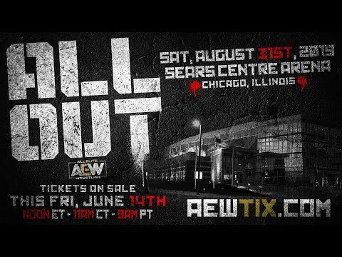 Cody AEW All Out Ticket Announcement