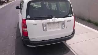 Видео-тест автомобиля Toyota Succeed (белый, Ncp51-0219680, 1NZ-FE, 2009г.)