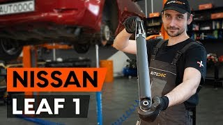 Instalace zadní a přední Brzdové Destičky NISSAN LEAF: video příručky