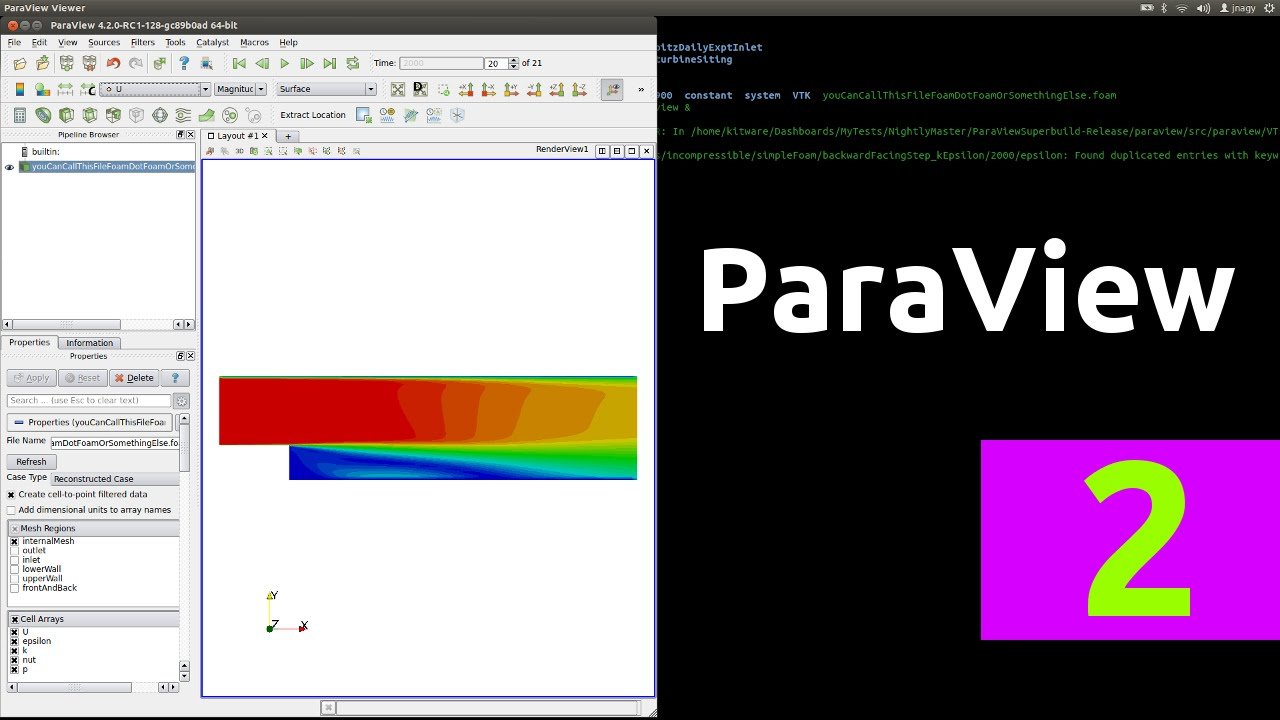 How to open OpenFOAM® results in ParaView