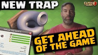 SNEAK PEEK | NEW TORNADO TRAP | CLASH OF CLANS OCTOBER UPDATE