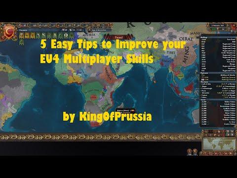 5 EU4 Multiplayer Mechanics Tips  
