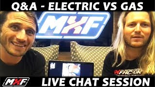 Video Q&A - Electric vs Gas Dirt Bike w/ Special Guest!! We Talk Sound, Price, Battery Life, & More!! download MP3, 3GP, MP4, WEBM, AVI, FLV Agustus 2018