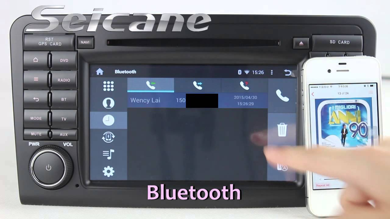 seicane android 4 4 comand infotainment system for. Black Bedroom Furniture Sets. Home Design Ideas