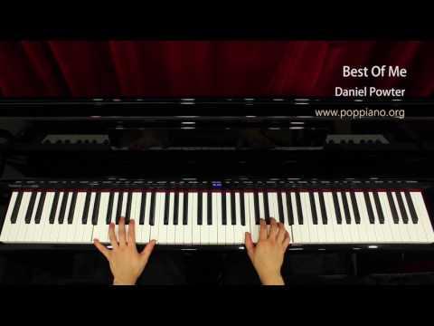 ♫ Best Of Me - Daniel Powter (piano) instrumental / play by ear