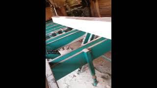 Ленточная пилорама ZBL-60HM(Уширенная версия ленточной пилорамы ZBL-60H в работе. Полная гидравлика в максимальной комплектации без фрезы..., 2016-04-08T14:38:25.000Z)