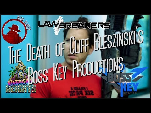 The Death of Cliff Bleszinski's Boss Key Productions