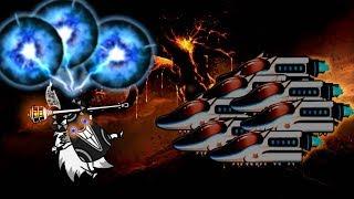 The Battle Cats - Floor 40 ft. Bullet Train Cat (Maglev's True Form)