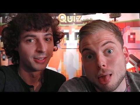 4J Studios Visit - Stampy's Lovely Minecraft Quizz - Part 2