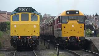 SVR Diesel Gala 2019 Kidderminster all day action from Saturday 18th May