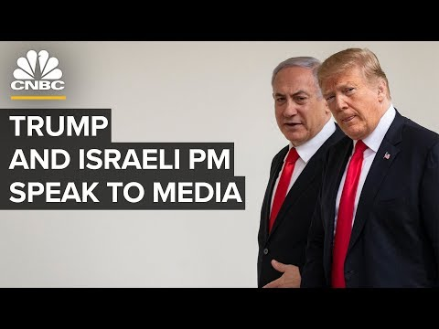 President Trump And Israeli PM Netanyahu Deliver Remarks At The White House – 1/28/2020
