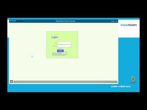 Webinar - NEW RR Ordering System 2014