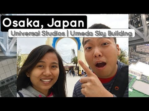 Travel Vlog #5: Osaka, Japan   Universal Studios Japan   Umeda Sky Building