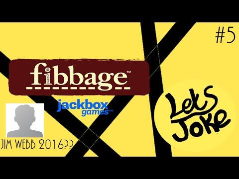 Jackbox Party pack 2- Fibbage 2 - Jim Webb #5 - LetsJoke |