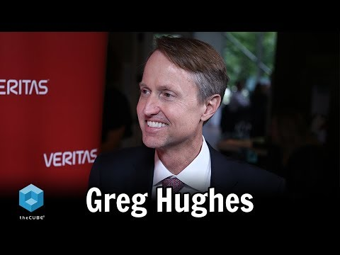 Greg Hughes, Veritas | Veritas Vision Solution Day