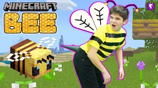 Minecraft BEE Takes Over HobbyPig! Turns Into HobBEE Honey. Learn How Honey is Made by HobbyKidsTV