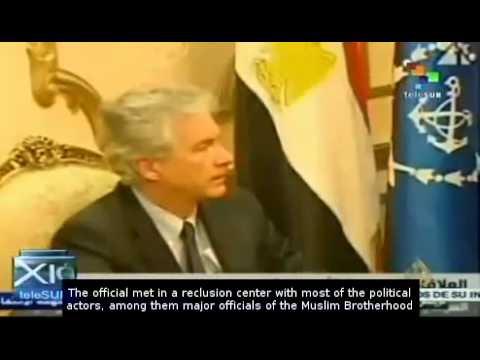 William Burns extends his visit to Egypt