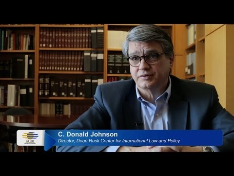 GDAE interviews C. Donald Johnson (University of Georgia School of Law)