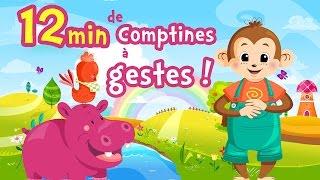 Comptines à gestes pour bébés ⒹⒺⓋⒶ Chansons pour enfants