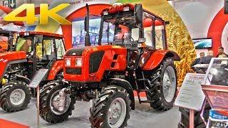 Самый известный трактор МТЗ-82.1 в рестайлинговом исполнении и другие новинки от МТЗ на АГРОСАЛОНЕ