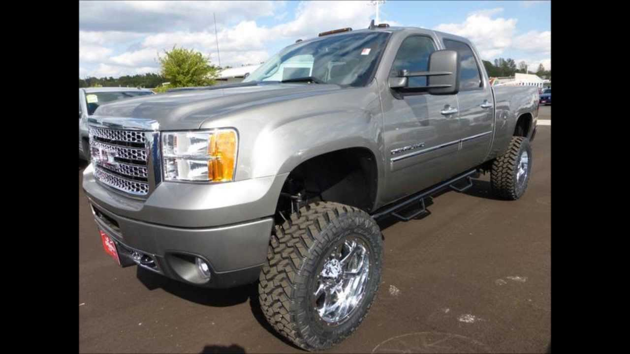 Duramax For Sale >> 2014 GMC Sierra 2500HD Diesel Denali Lifted Truck - YouTube