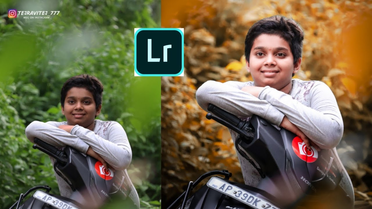 Lightroom background colour changing Photo Editing Tutorial 2020 || Face white| tej Ravitej