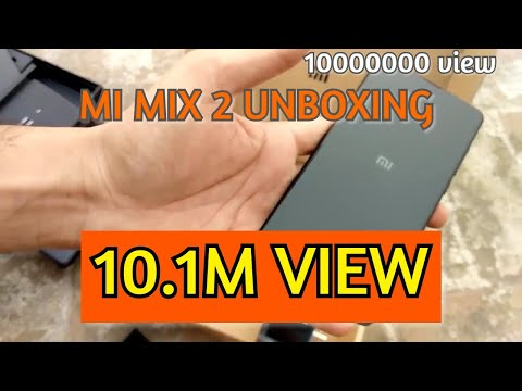 MI Mix 2 Unboxing Punjab india 36000 price