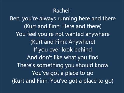 Glee - Ben - Lyrics