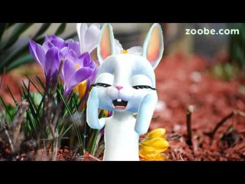 Zoobe Зайка Весна и оптимизм :-) - Клип смотреть онлайн с ютуб youtube, скачать