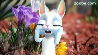 Zoobe Зайка Весна и оптимизм :-)