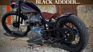 Build video of Black Adder, by Angry Monkey Motorcycles