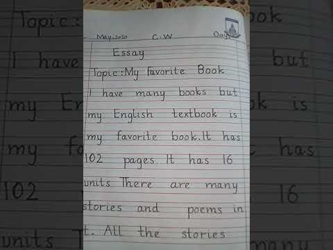 II-Eng(Gr)-Essay-My Favorite Book