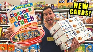*NEW POKEMON CARDS IN CEREAL!* Opening ALL Booster Packs AT TARGET STORE!