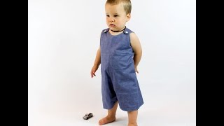 How to make a baby Romper