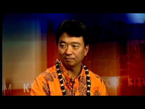 Newly Appointed Lt. Gov. Shan Tsutsui stops by This Morning