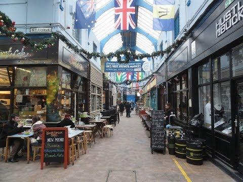 Walking Around Brixton Village Indoor Market Brixton