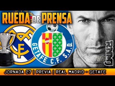 Rueda de prensa de Zidane (03/03/2018)   PREVIA al Real Madrid - Getafe