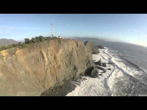 Point Bonita Drone Flight