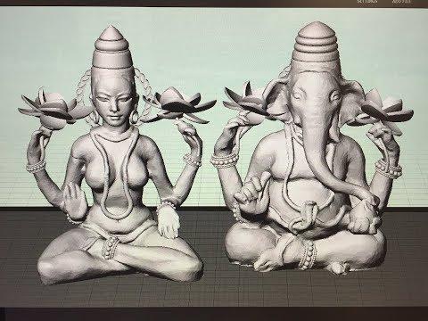 Essency Lakshmi Ganesh Sculpture (Part 1 of 2)