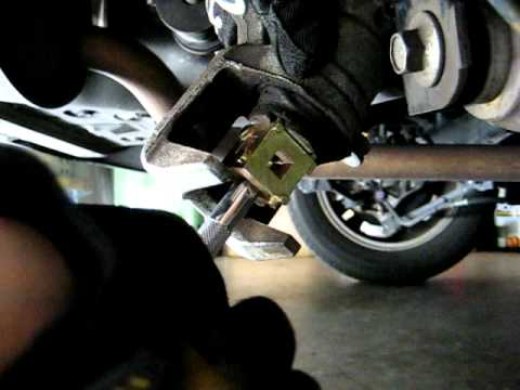 Honda Accord How To Turn Back Screw In Type Rear Caliper